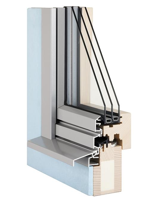 Fenster Querschnitt Minergie