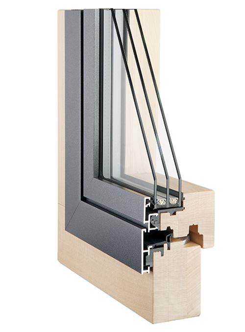 03 schweizer fenster fassadensystem 2015 - Holz-Metall-Fenster