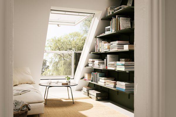 Dachfenster ausklappbar