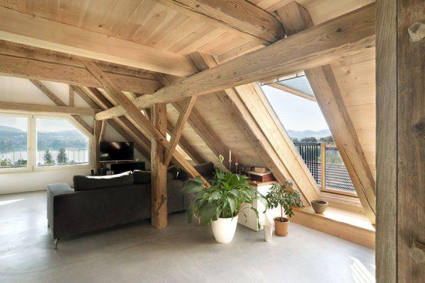Dachfenster Dachstock
