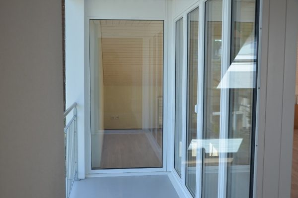 Holzmetallfenster Balkon